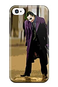 ChrisPeters Snap On Hard Case Cover The Joker - The Dark Knight Protector For Iphone 4/4s