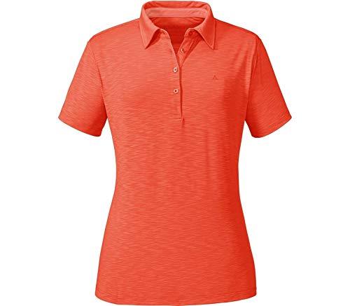 Schöffel Orange Polo Femme Shirt Capri1 7znq8T7