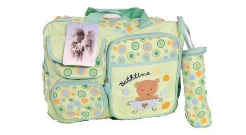 Original GMMH 3 piezas bebé Color verde 50 cm XXL Bolso cambiador Bolsa Cuidados Pañales Bebé Viaje Color A Elegir