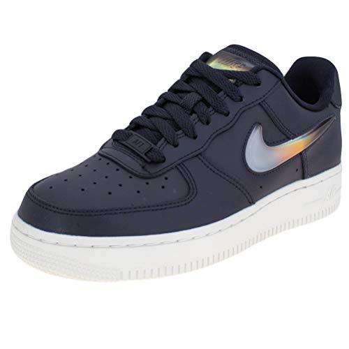Nike Women's Air Force 1 '07 SE PRM Oil Grey/Crimson/Obsidian AH6827-004 (Size: 8)