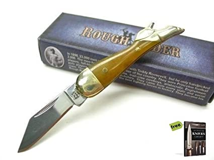 Amazon.com: SURVIVAL STEEL ROUGH RIDER Smooth Tobacco MINI ...