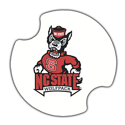 Thirstystone North Carolina State University Car Cup Holder Coaster, 2-Pack
