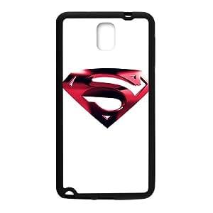 2015 Bestselling black superman logo Phone Case for Sumsung Note 3 black