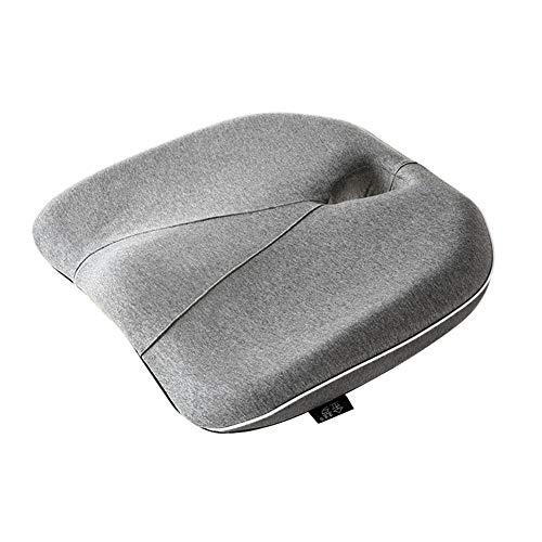 (Automotive Seat Cushions Car seat Cushion Summer Breathable Cushion Memory Cotton mat Pregnant Women's Cushion Hemorrhoids pad Anti-Hemorrhoids Reduce Hip Pressure Refreshing and Breathable)