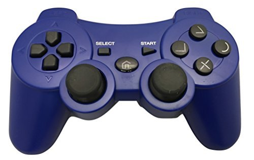 ps3 blue controller - 2