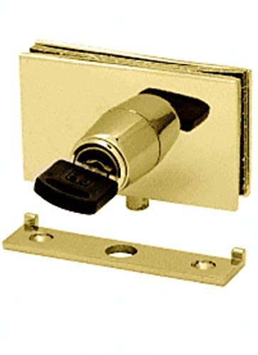 CRL Brass Square Plunger Lock With Strike by CR Laurence