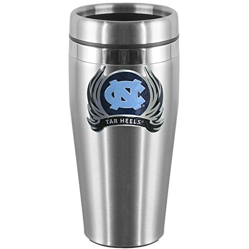 N. Carolina Tar Heels Steel Travel Mug