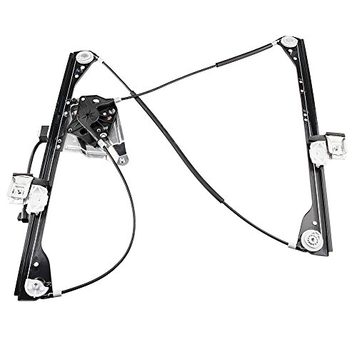 Driver Front Power Window Lift Regulator with Motor Assembly Replacement for 2001-2005 Pontiac Aztek | Buick Rendezvous 2002 2003 2004 2005 2006 - Regulator Front Pontiac