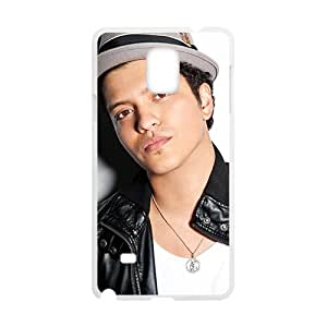 Happy Bruno Mars Brand New And Custom Hard Case Cover Protector For Samsung Galaxy Note4