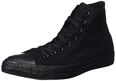 Converse Chuck Taylor All Star High Top Black Monochrome M3310 Mens 3.5