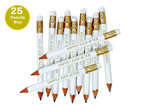 Happily Ever After Pencils Pre-sharpened for all Occasions