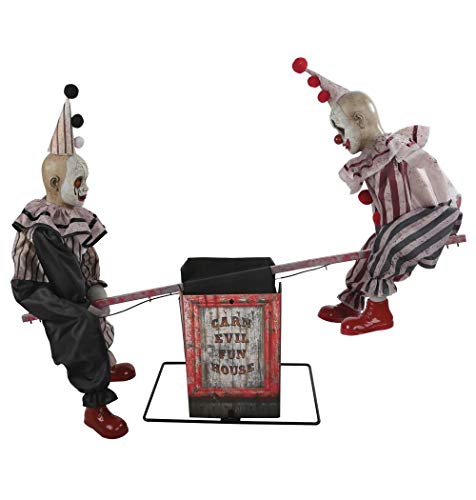 Morris Costumes Animated See-Saw Clowns with Sound - Standard ()