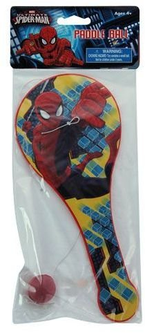 Ultimate Spiderman Paddle Ball Set (36 Pieces) by DDI