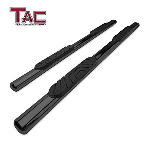 TAC Side Steps Running Boards Fit 2009-2018 Dodge Ram 1500 Crew Cab / 2010-2019 Dodge Ram 2500/3500 / 4500/5500 Crew Cab Truck Pickup 4