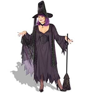 Mystic Witch Plus Costume (Women's Adult X-Large 14-18)