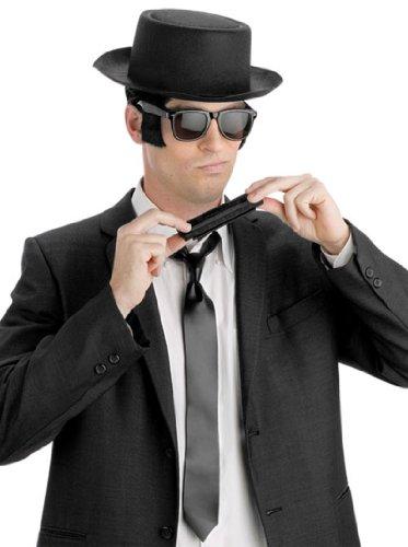 Instant Blues Man Kit (Halloween Costume Blues Brothers)