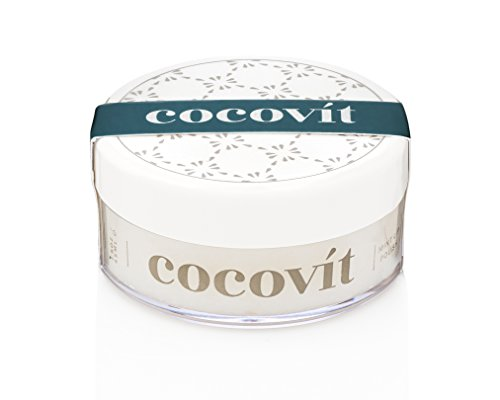 Cocovit - Organic Exfoliating and Hydrating Mint Lip Polish (1.5oz) by Cocovit
