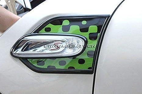 Chromiumtech portillos Laterales Embellecedor (F56/F55) - Elegir Colores y Estilos - Alegre Verde: Amazon.es: Coche y moto