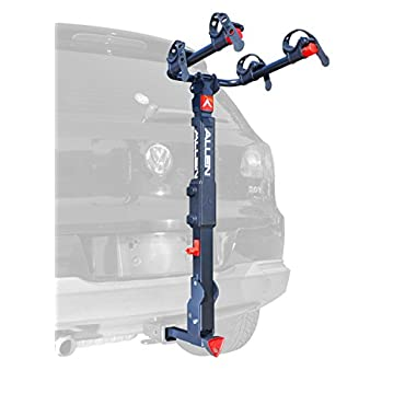 Allen Sports Premier Locking Quick Release 2-Bike Carrier for 2 in. & 1 4 in. Hitch