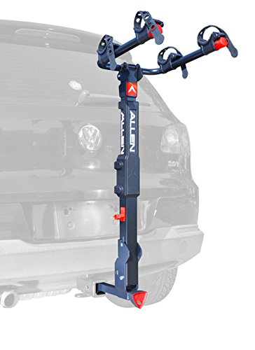 Allen Sports Premier Locking Quick Release 2-Bike Carrier for 2 in. & 1 4 in. Hitch by Allen Sports