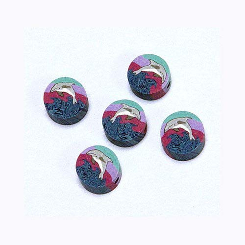 n Theme Polymer Clay millefiori Beads ()