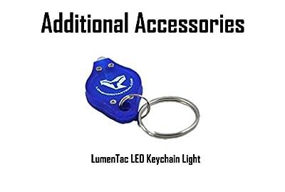 Olight PL-MINI (PL MINI) Valkyrie 400 Lumen Magnetic USB Rechargeable Pistol Light for Glock, Sig Sauer, S&W plus Lumen Tactical Keychain Light