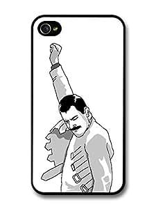 Meme Freddie Mercury Emoticon Illustration Queen Emoji For Ipod Touch 5 Case Cover