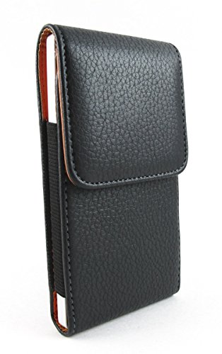 Motorola Leather case, Vertical Leather Holster Pouch Belt Clip Carry (Belt Clip Carry Case)