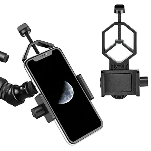 Neewer Universal Cell Phone Adapter Mount for Binocular Monocular Spotting Scope Telescope and Microscope and Holder Compatible with iPhone Sony Samsung Moto and Other Phones by Neewer