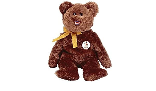 TY Beanie Baby - CHAMPION the FIFA Bear (Costa Rica)  by TY: Amazon.es: Juguetes y juegos