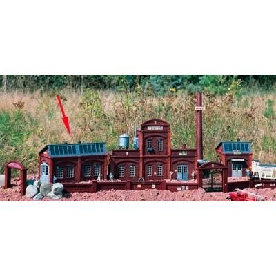 (PIKO G SCALE MODEL TRAIN BUILDINGS - BREWERY SIDE BUILDING - 62015)