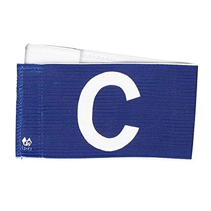 B+D Spielführer Armbinde, Klettverschluss Captains Armband, Velcro Fastener B+D Spielführer Armbinde Velcro Fastener (Blau)