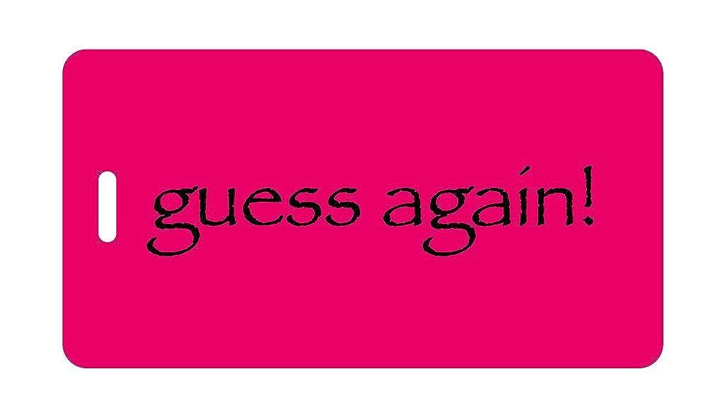 荷物タグ – Guess Again 。 B004Y1QUIM 赤紫/ブラック