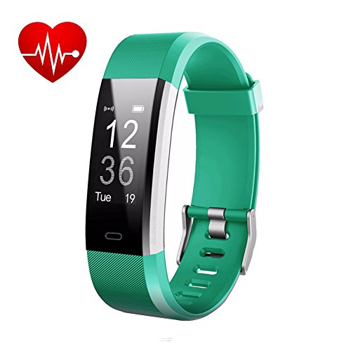 Fitness Watch,Fitness Tracker,Letufit Plus Activity Tracker With Heart Rate Monitor,Step Counter,GPS Tracker,Waterproof Smart Wristband for Android and Ios