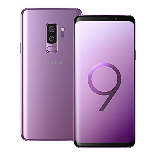 Samsung Galaxy S9 Plus (SM-G965F/DS) 6GB / 128GB 6.2-inches LTE Dual SIM Factory Unlocked - International Stock No Warranty (Lilac Purple)