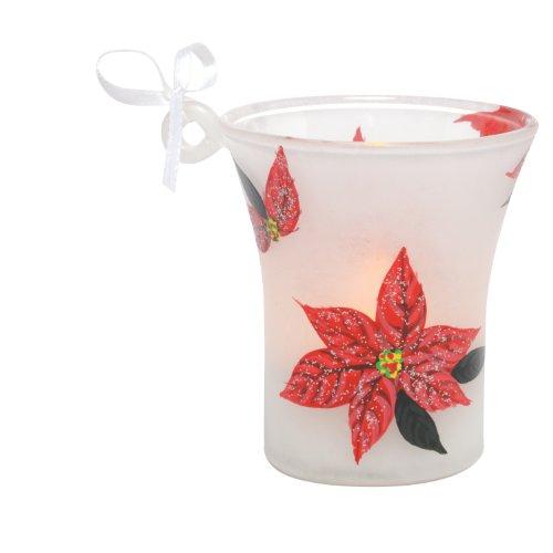 Santa Barbara Design Studio Lolita Holiday Mini Candle LED Ornament, ()