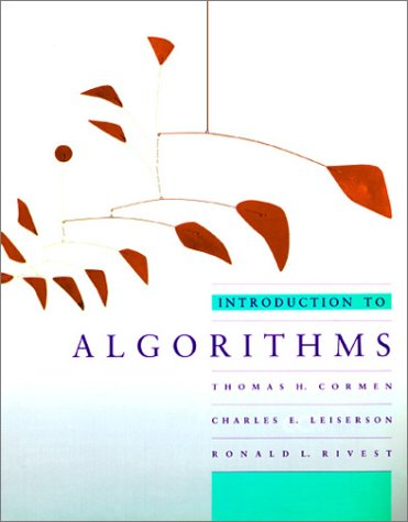 Introduction to Algorithms (MIT Electrical Engineering and Computer Science)