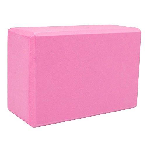 Crown Sporting Goods Large High Density Foam Yoga Block