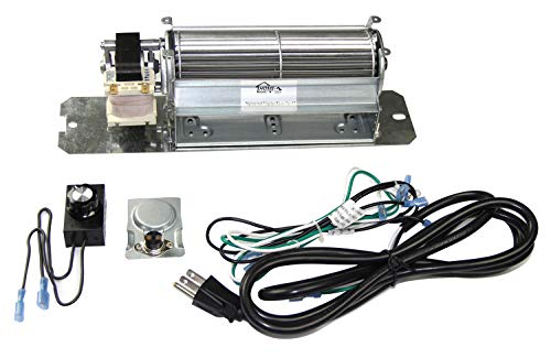 - Hongso GZ550 Replacement Fireplace Blower Fan KIT for Continental, Napoleon, Rotom HB-RB58