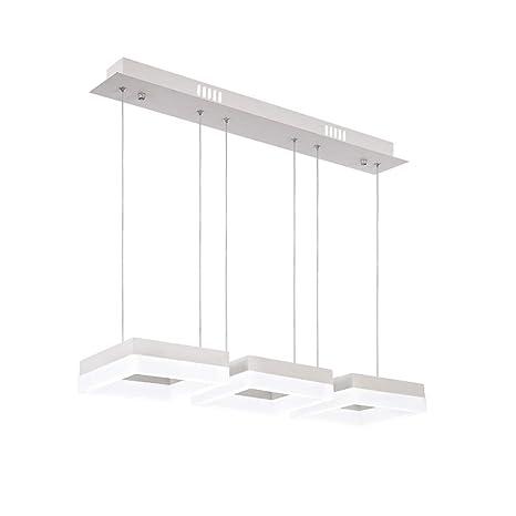 Lámpara de techo LED para comedor, regulable, diseño moderno ...
