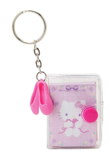 Amazon.com: Hello Kitty Mini Notebook llavero con bailarina ...