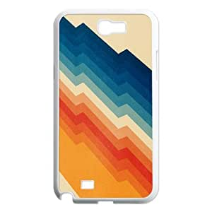 Doah Art Prints Samsung Galaxy Note 2 Cases Barricade for Boys, Samsung Galaxy Note 2 Cases for Womens for Boys [White]