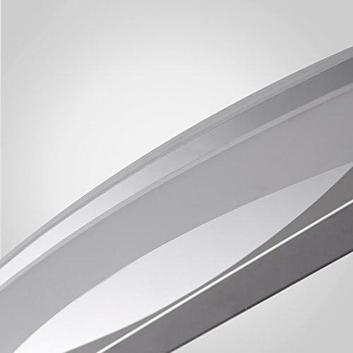 FEI LED Badezimmerspiegel Licht (40cm-6W, 54cm-9W) Edelstahl gebogene LED-vordere Lampen-moderne einfache Acrylbadezimmer-Schrank-Licht- / Wand-Lampe/Verfassungs-Lampe Wandleuchte