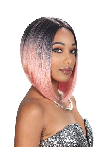 Zury Sis Synthetic Hair Slay Lace Front Wig SLAY BLUNT-LACE H MULA (1) (Hollywood Sis Synthetic Lace Front Wig Natural)