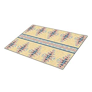 WareBuy Cool Decorative Classic Rodeo Trendy Mountain Lodge Ranch Style Christmas Doormat