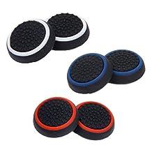 3Pairs Joystick Thumbstick Caps Cap for PS4 PS3 PS2 Xbox one/360 Controller