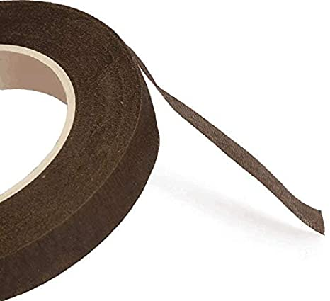 Y wang 10 Rolls Floral Tape Stem Wrap Brown Tape for Bouquet Stem Wrap Floral Arranging Craft Projects Corsages 1//2 Wide 900Feet Long
