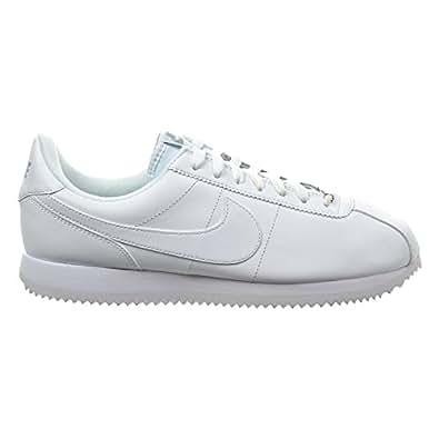 Amazon.com | Nike Cortez Basic Leather Men's Shoes White
