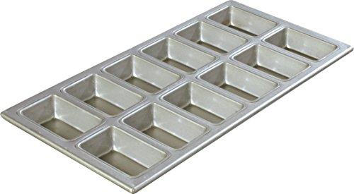 Carlisle 606903 Mini Loaf Pan, 6 pack (Carlisle Loaf Pan)