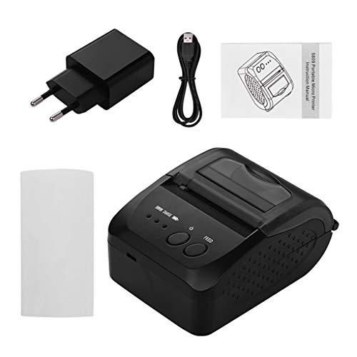 dailymall 58mm Mini Portable Wireless Bluetooth 4.0 Thermal Receipt Ticket Printer